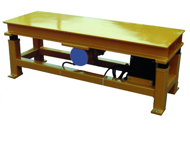 - Vibrating table