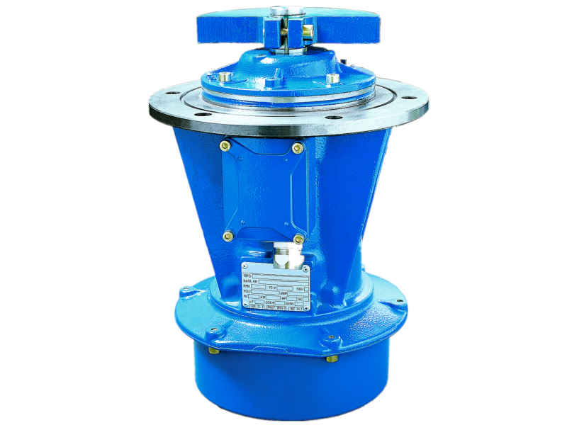- Vibrateur industriel série EBST (bride latérale)