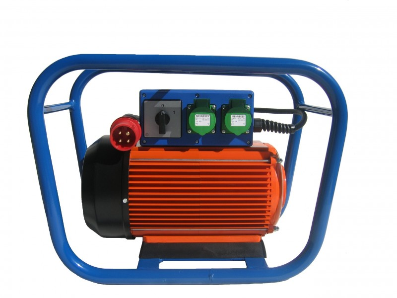 - Converter 400 V → 42V (three phases)