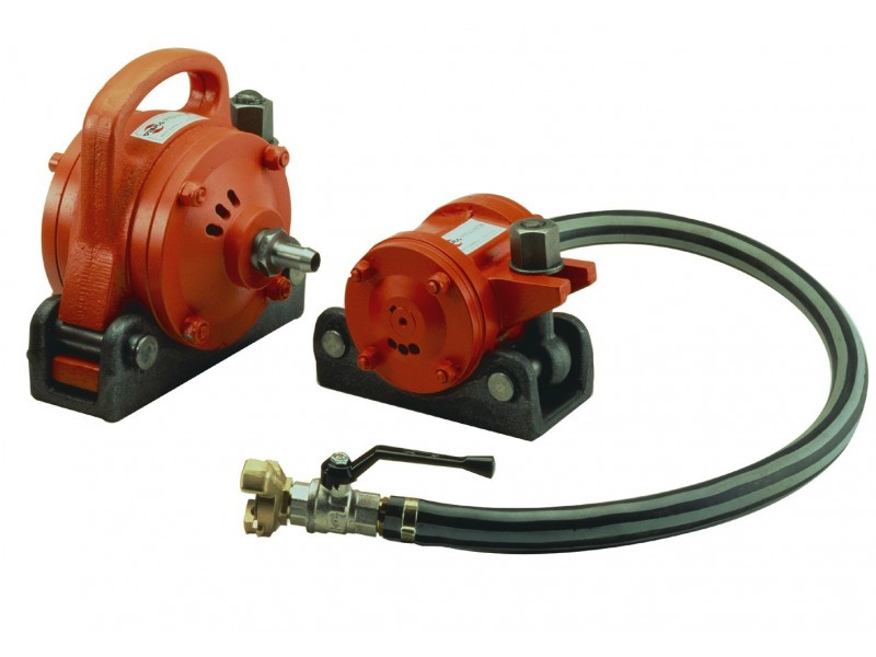 - Pneumatic vibrator VEP models (turbovibrator)