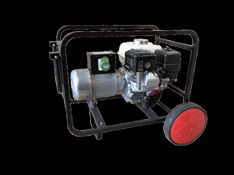 - Generadores autónomos  42 V / 200 Hz (Gasolina o Diésel)