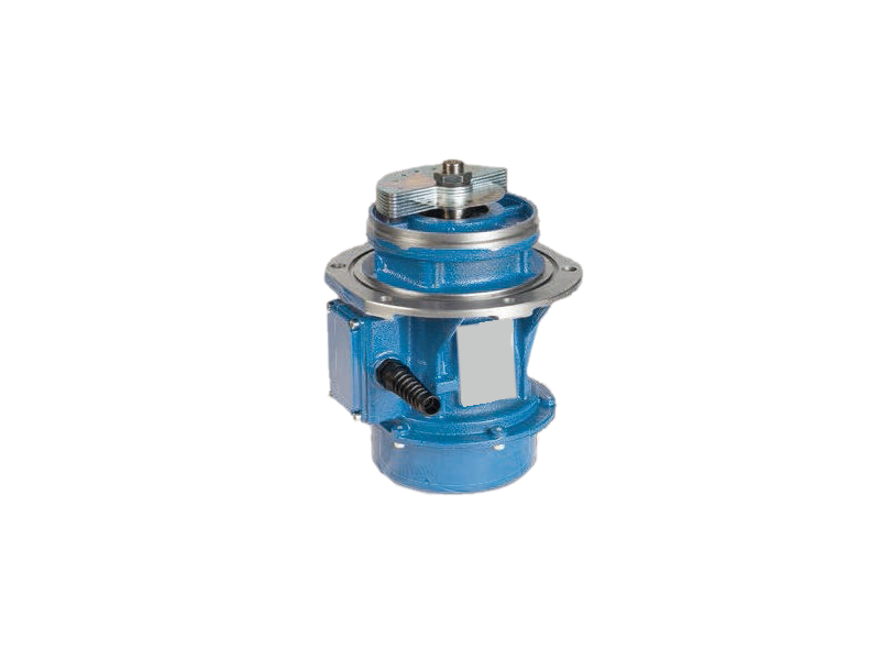 - Vibrador industrial serie EBB (brida lateral)