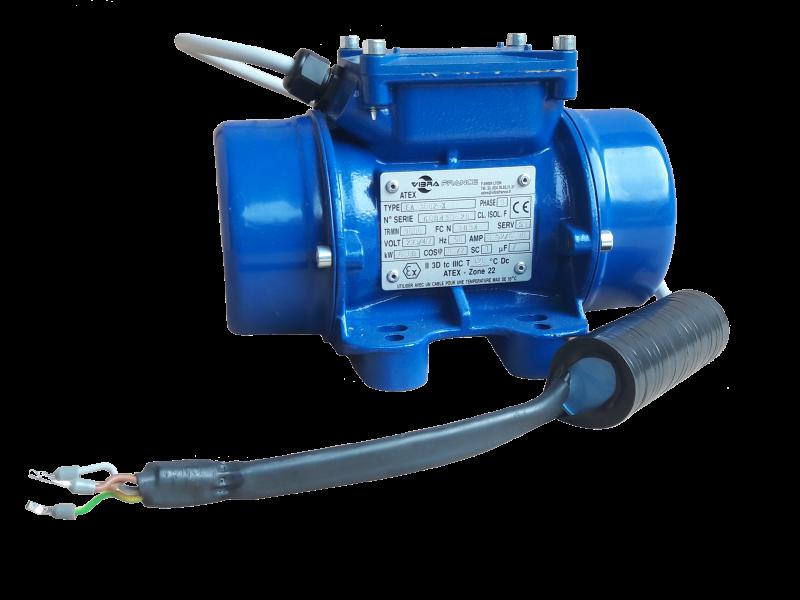 - Vibrador industrial serie EAM (Monofásico)