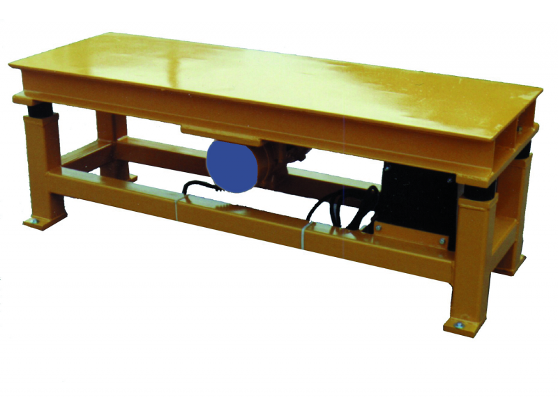 - Vibrating table