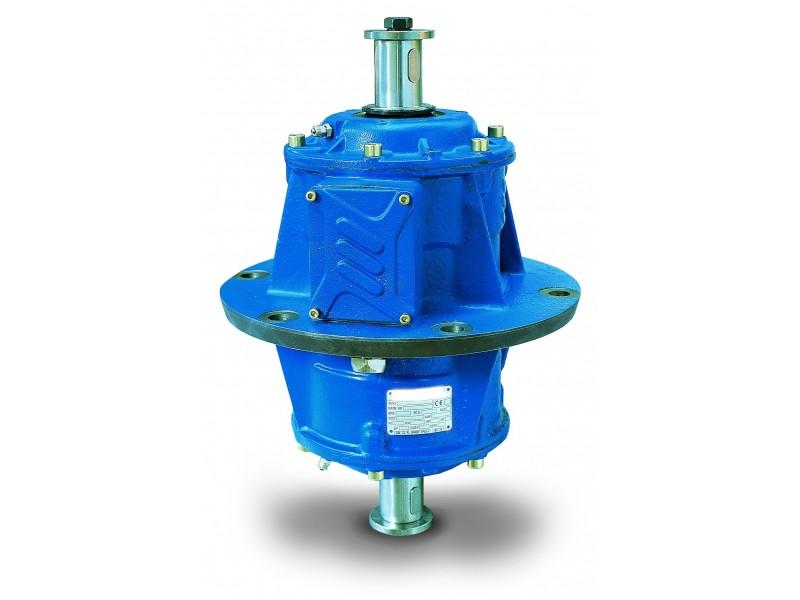 - Vibrador  industrial serie EBB (brida central)