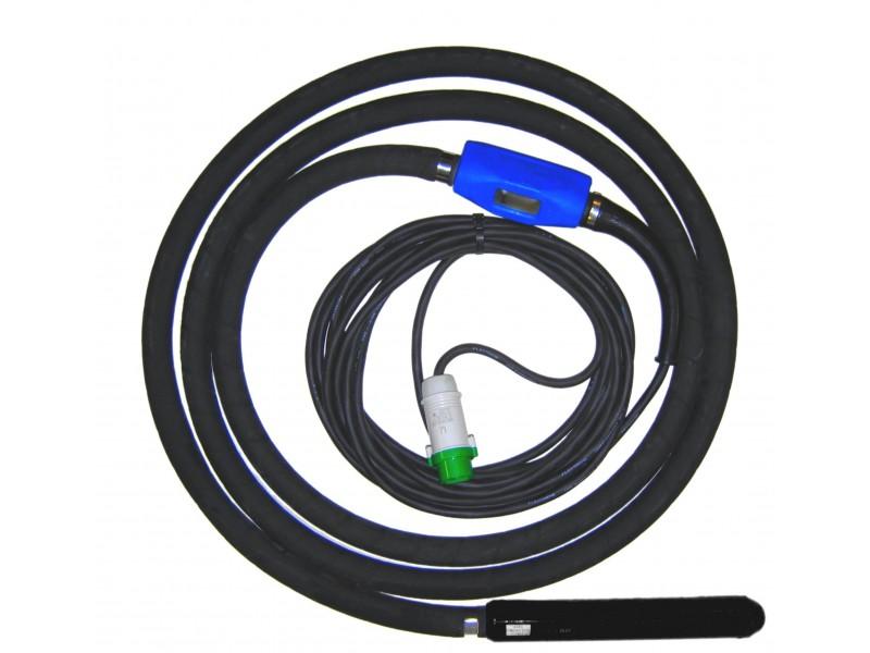 - Aguja vibrante para hormigón serie TNE (con protección térmica)