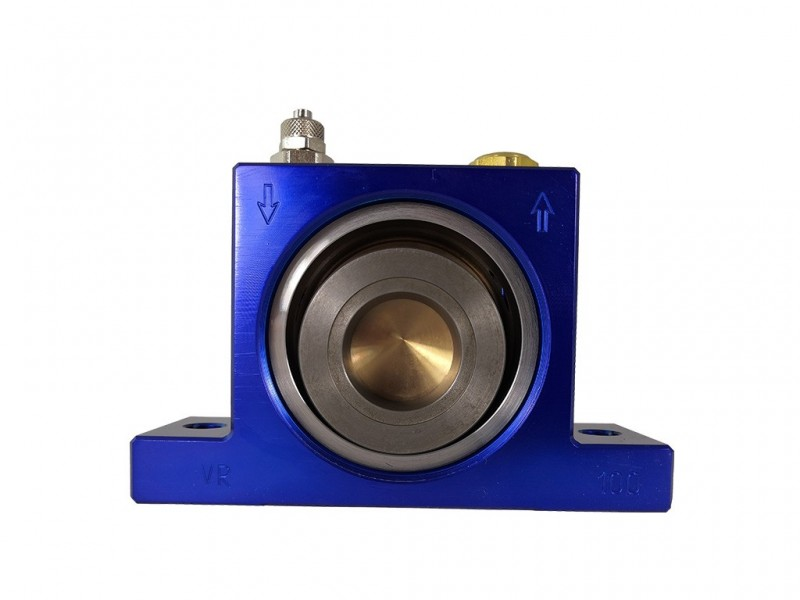 - Pneumatic vibrator VR models (Roller)