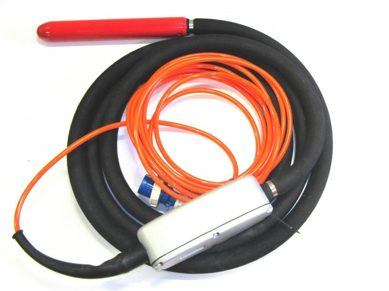 - Electronic immersion vibrators with  integreted converter