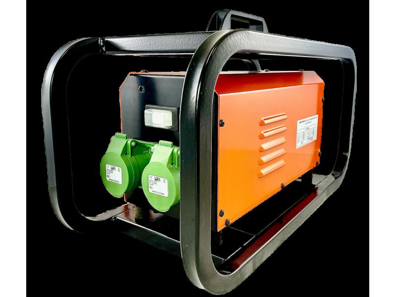 - Convertisseur électronique 230V → 42V (monophasé)