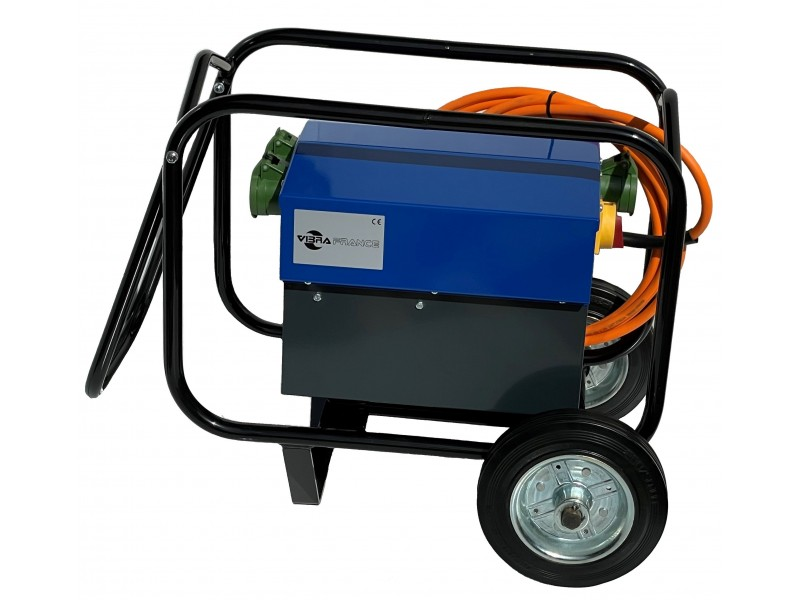 - Electronic converter 230V → 42V (single phase)